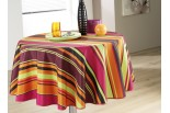 Nappe 160 rayures multicolors