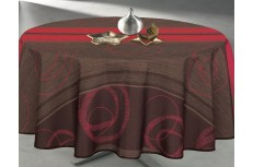 Nappe ronde Boreale Rouge