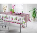 nappe rectangulaire fuschia catalan