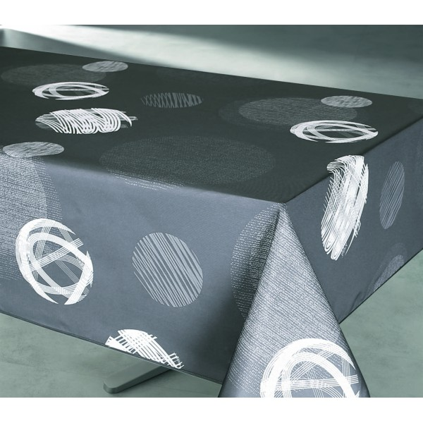 nappe rectangulaire laetitia grise nappe rectangulaire. Black Bedroom Furniture Sets. Home Design Ideas