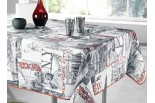 nappe rectangle new city rouge